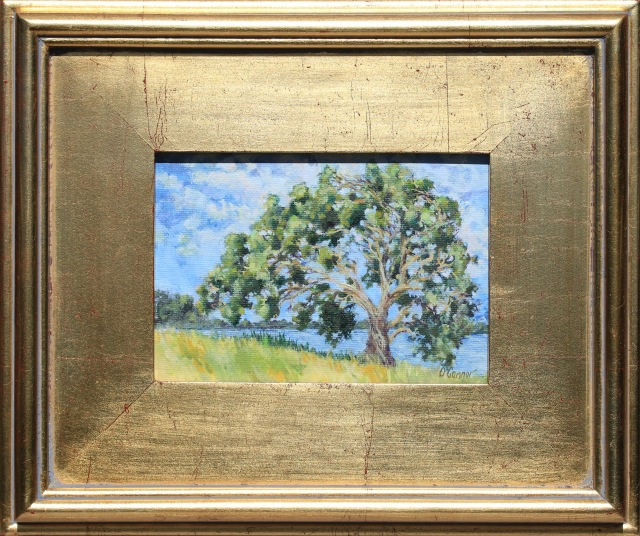 "Eucalyptus, - oil, 5""x7"""